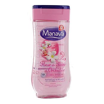 Gel douche Manava Fleur Tiaré et Orchidée - 250ml ...